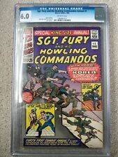 Sgt. Fury Annual # 1  CGC 6.0   (1965 Marvel)