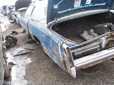 "1978 ELDORADO REAR BUMPER used wear 6 "" SCRAPE OEM USED ORIG CADILLAC GM PART"
