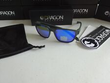 Dragon Reflector H2O Matte Magent Blue Polarized Floating Sunglasses NIB 2018