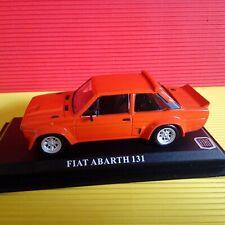 Modellino DIE CAST Del Prado Fiat Abarth 131 1/43 NUOVO NIK37