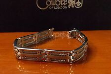 COLIBRI STAINLESS STEEL CABLE LINK BRACELET LBR 108400