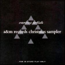 A&M Records Christmas Sampler PROMO w/ Artwork MUSIC AUDIO CD Sounds Blackness