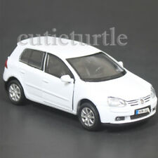 "4.5"" Welly VW Volkswagen Golf V GTi Fsi Diecast Toy Car 42361D White"