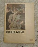 Toulouse Lautrec vintage art SKIRA color plate book rare