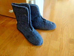 SnowMaster  Men's Boot Felt Boot Liners Size 9 Made in Canada