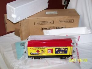 LIONEL / MTH 11-30112 STANDARD GAUGE 214R REFRIGERATOR CAR ~ PALISADES PARK ~NOS