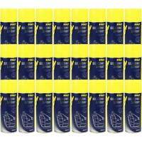 24x450ml MANNOL 9963 Silikon Spray Silicone Pflege Inennraumpflege Silikonöl