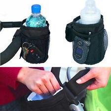 Baby Pram Buggy Stroller Pushchair Insulated Net Key Cup Drink Bottle Holder Bag