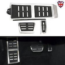 AT PAD PEDAL PADS COVERS For Audi A6 C7 S6 4G A8 S8 A8L 4H Q3 A4 B8 S4 RS4 Q5