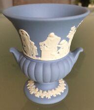 Wedgwood Jasperware Jasper blau Vase Porzellan England