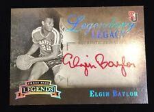 2007 Press Pass Legends Elgin Baylor Red Auto 12/25 (LK)