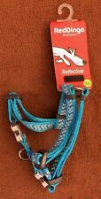 Red Dingo Reflective Ziggy Turquoise Harness Size Extra Small 25- 39 Cm BNWT