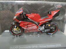 Ducati Desmosedici GP19 Andrea Dovizioso 2019 Coleccion Altaya Moto Gp 1:18
