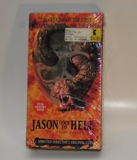 Jason Goes to Hell: The Final Friday (VHS, 1994, 91 min. Unrated Director Cut)