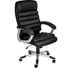 Chaise de bureau siège hauteur réglable simili cuir fauteuil direction