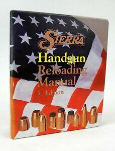 Sierra Handgun Reloading Manual - 3rd Edition