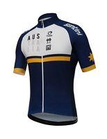 2018 Men's CYCLING AUSTRALIA TRAINING KIT Short Sleeve Cycling Jersey by Santini