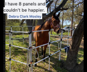 Portable Horse or Pony Corral Corrals Panels Pen 10x10 USA Made! FREE Shipping!