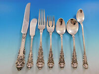 Sir Christopher by Wallace Sterling Silver Flatware Set 8 Service 61 pieces
