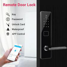 BT-Smart Door Lock Security Home Password Waterproof Electronic Code Phone Entry