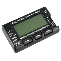 RC Cell Meter-7 Digital Battery Capacity Checker for NiCd/NiMH/LiPo SY U4Z2