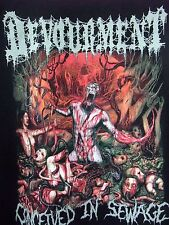 Devourment t-shirt Conceived in Sewage Severed Savior Disgorge  XL black