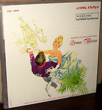 CLASSIC RECORDS LP LSC-2500: STRAUSS WALTZES Reiner & CSO 180gm OOP USA 1990s SS