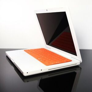 SL ORANGE Silicone  Skin Cover for OLD Macbook 13 A1181