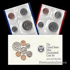 1992 P+D U.S. Mint Set ~ Kennedy Washington Roosevelt Jefferson Lincoln US Coins