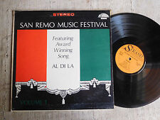 San Remo music festival volume 1 - LP