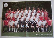 Orig.Poster  DEUTSCHLAND Frauen Nationalmannschaft - Team zur WM 2011 / 58x41 cm
