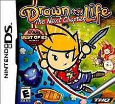 Drawn to Life: The Next Chapter (Nintendo DS, 2009) *CIB* Complete in Box