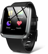 Hommie Smart Watch, Bluetooth Touchscreen Fitness Tracker with Heart Rate Monito