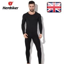 HEROBIKER Men Thermal Underwear Set Motorcycle Skiing Winter Warm Base Layers L