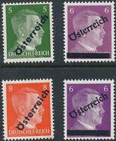 Stamp Germany Austria 1945 WW2 Osterreich Adolf Hitler Head Selection MNH