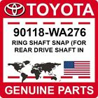 90118-wa276 Toyota Oem Genuine Ring Shaft Snap For Rear Drive Shaft In