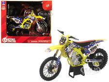 SUZUKI RMZ450 NITRO CIRCUS #199 PASTRANA 1/12 DIECAST MOTORCYCLE NEW RAY 57993