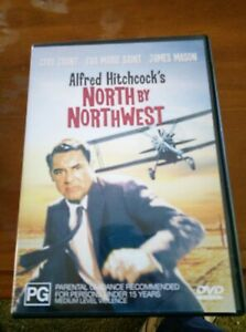 North By Northwest Alfred Hitchcock DVD Cary Grant, James Mason, Eva Marie Saint