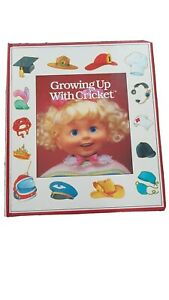 Vintage Cricket Talking Playmates Doll Growing Up With Cricket Book