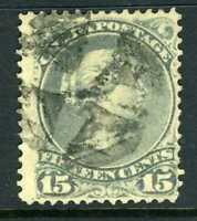 Canada 1868  Large Queen 15¢  Gray VFU X760
