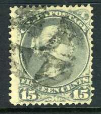 Canada 1868  Large Queen 15¢  Gray VFU X760