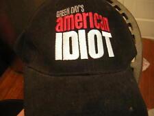 GREEN DAY CREW BASEBALL CAP 2004 PROMO ROADIE AMERICAN IDIOT  BILLY JOE