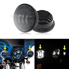 "4.5"" LED Auxiliary Passing Lights Fit Harley Electra Street Tour Glide Touring"