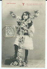 CPA- Carte postale -Bergeret - Les voyelles