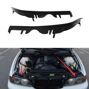 For BMW E39 525i 528i 530i 540i M5 L+R Pair  Upper Headlight Headlamp Gasket