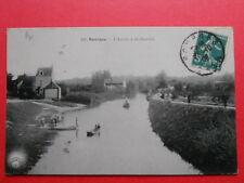 BOURGES  :  L'Auron à St-Outrille......VO.1909.