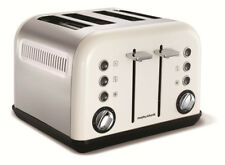 Morphy Richards 242021 Accents 4 Slice Toaster - White