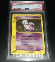 PSA 9 MINT Mew 19/165 Expedition Base Set HOLO RARE Pokemon Card