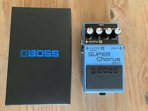 Boss CH-1 Chorus Pedal Boxed mint