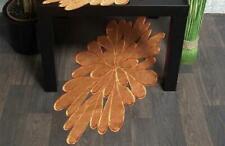 Hossner Ellwangen Braun Tischläufer 40x85 cm oval Tischdecke Decke Organza Blüte